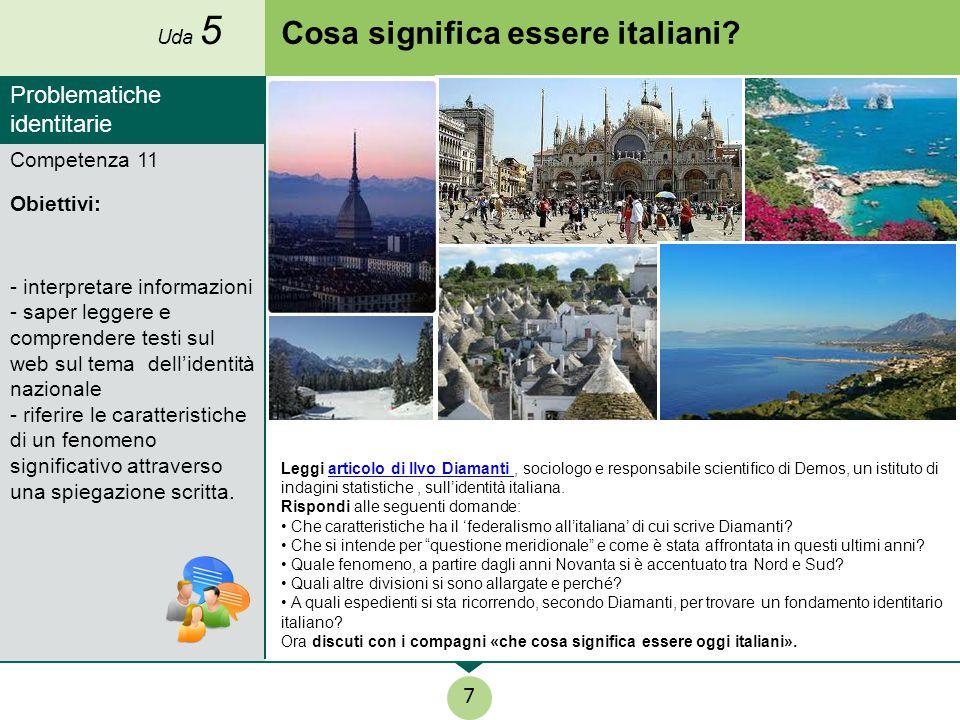 Cosa significa essere italiani? Leggi articolo di Ilvo Diamanti, sociologo e responsabile scientifico di Demos, un istituto di indagini statistiche, s