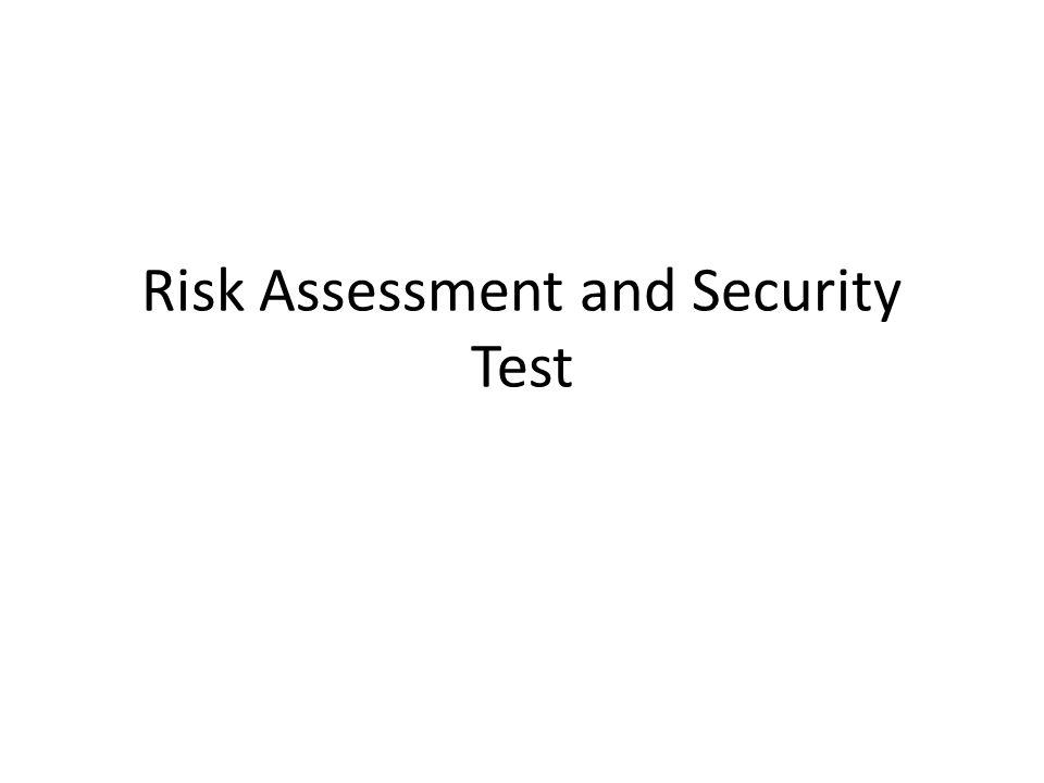 Information Security Assessment Un Information Security assessment è il processo che determina quanto efficacemente un' entità (host, sistema, rete, procedure, persone, note come gli assessment object) incontra gli obiettivi di sicurezza.