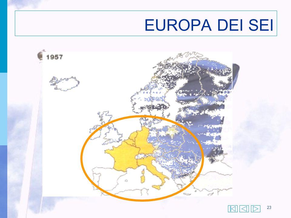 23 EUROPA DEI SEI