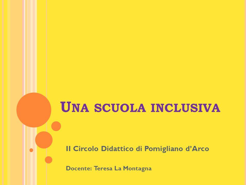 L'inclusione vuole essere non un nuovo modo di dire, ma una realtà complessivamente disposta per la vita di tutte e di tutti, senza strutture speciali o progetti straordinari.
