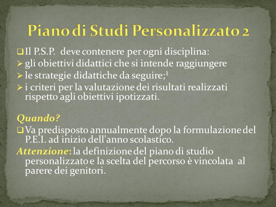  Il P.S.P.