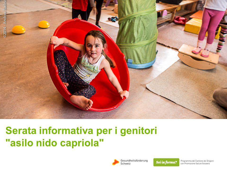 Serata informativa per i genitori asilo nido capriola