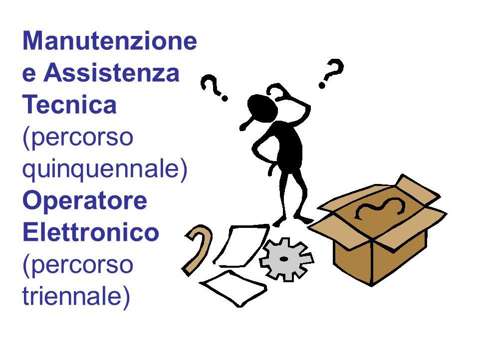 Manutenzione e Assistenza Tecnica (percorso quinquennale) Operatore Elettronico (percorso triennale)