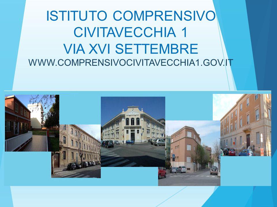 ISTITUTO COMPRENSIVO CIVITAVECCHIA 1 VIA XVI SETTEMBRE WWW.COMPRENSIVOCIVITAVECCHIA1.GOV.IT
