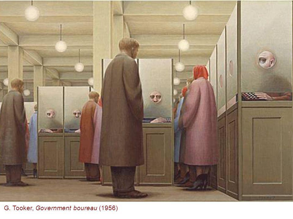 G. Tooker, Government boureau (1956)
