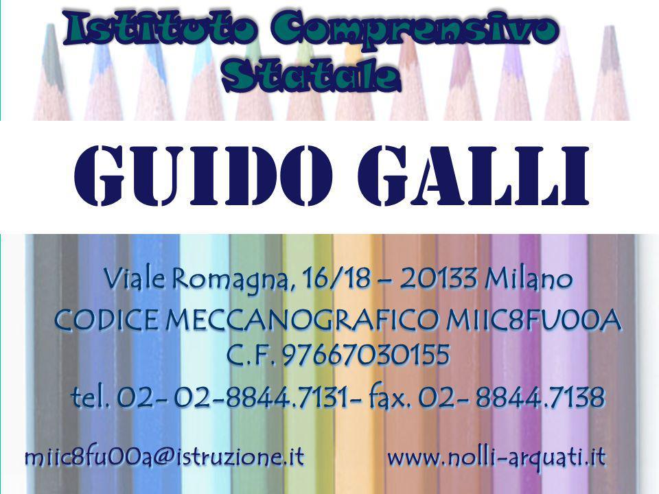 è§gh + Viale Romagna, 16/18 – 20133 Milano CODICE MECCANOGRAFICO MIIC8FU00A C.F. 97667030155 tel. 02- 02-8844.7131- fax. 02- 8844.7138 miic8fu00a@istr