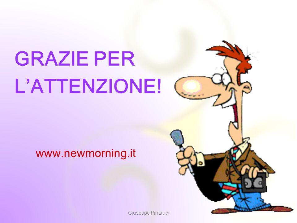 14 GRAZIE PER L'ATTENZIONE! Giuseppe Pintaudi www.newmorning.it