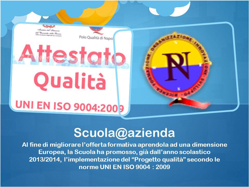 PON C5 FSE04-POR CAMPANIA 2013- 209 LAVORO E APPRENDO IN CAMPANIA Competenze: formazione on the job.
