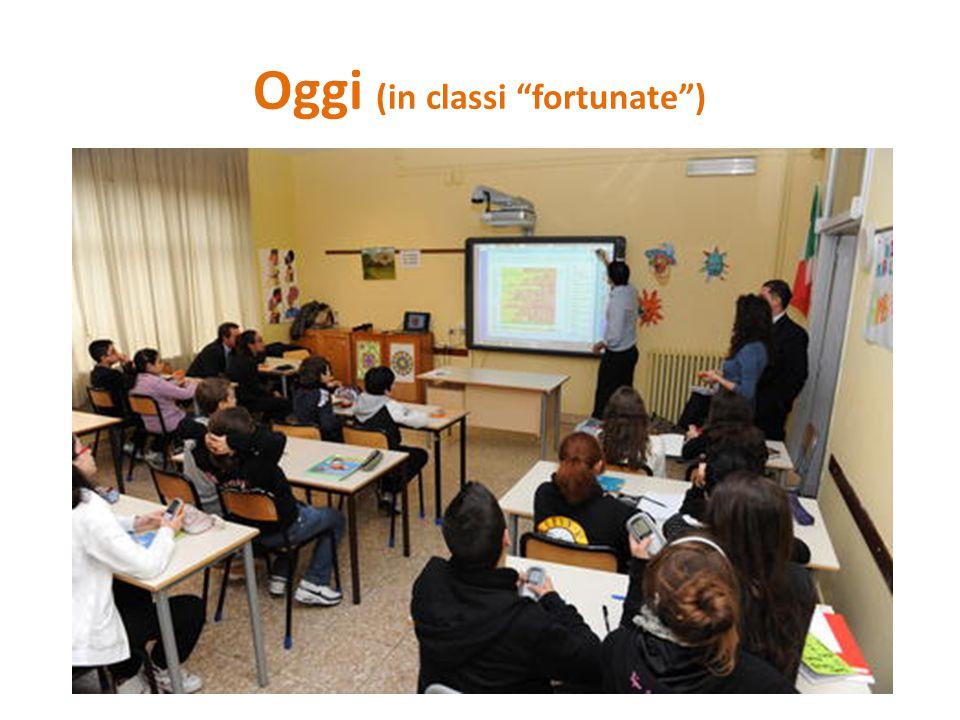 """Oggi (in classi """"fortunate"""")"""