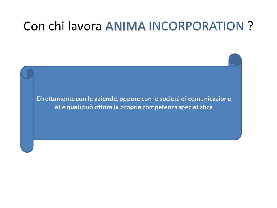 ANIMA Come lavora ANIMA INCORPORATION .