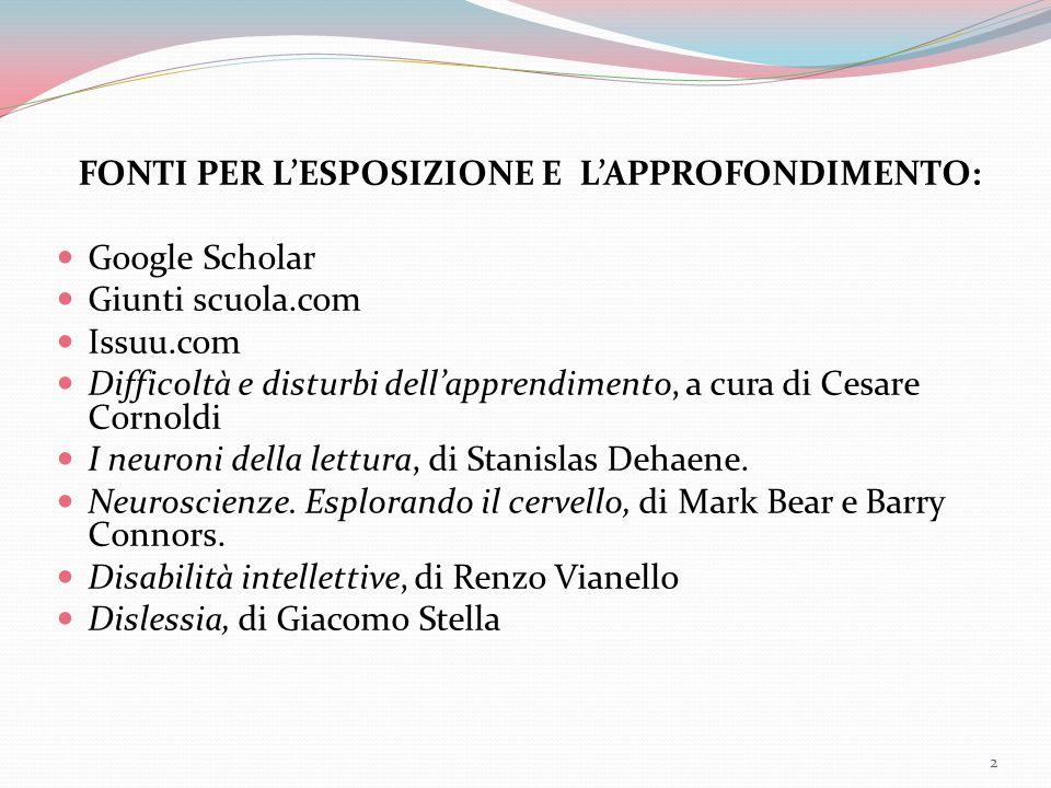 GiorgiaBenini2014LiceoDaVinci Profili fondamentali per incidenza che potrebbero sottostare a una difficoltà scolastica importante: Disturbo specifico di apprendimento DSA  4% (in Italia attualmente è diagnosticato un caso su quattro).