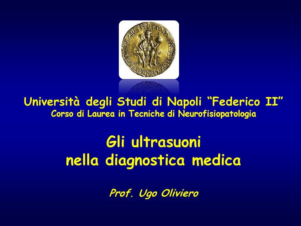 """Università degli Studi di Napoli """"Federico II"""" Corso di Laurea in Tecniche di Neurofisiopatologia Gli ultrasuoni nella diagnostica medica Prof. Ugo Ol"""