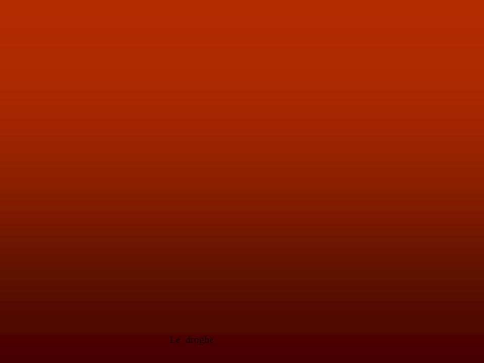 Le droghe17 overdose L' overdose che può portare a morte per soffocamento causato dall eccessivo rilassamento muscolare) è tra i rischi di ogni assunzione: dipende dalla quantità assunta e dal grado di purezza, infatti è quasi sempre tagliata con altre sostanze, a volte più pericolose dell eroina stessa.