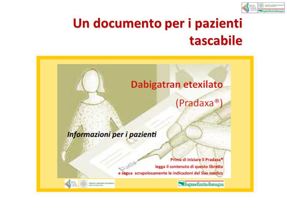 Un documento per i pazienti tascabile