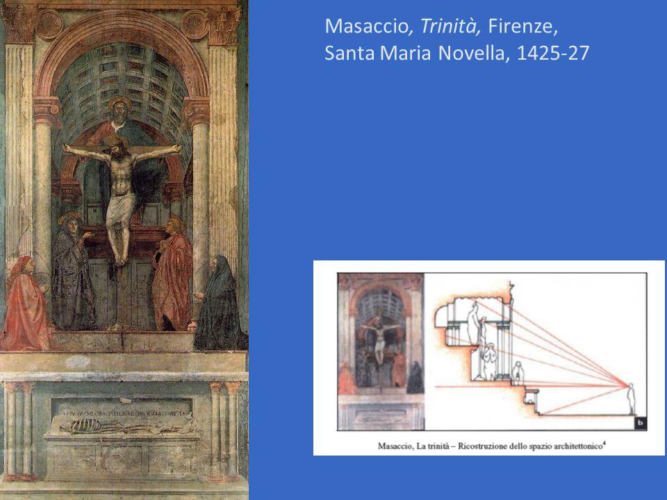 Masaccio, Trinità, Firenze, Santa Maria Novella, 1425-27