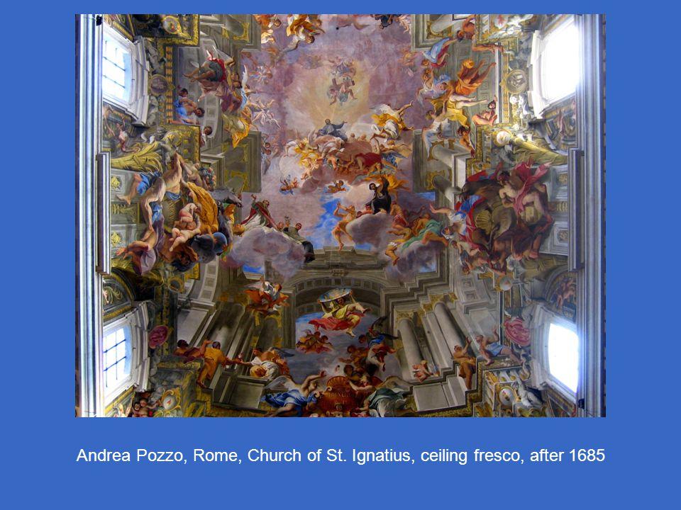 Andrea Pozzo, Rome, Church of St. Ignatius, ceiling fresco, after 1685