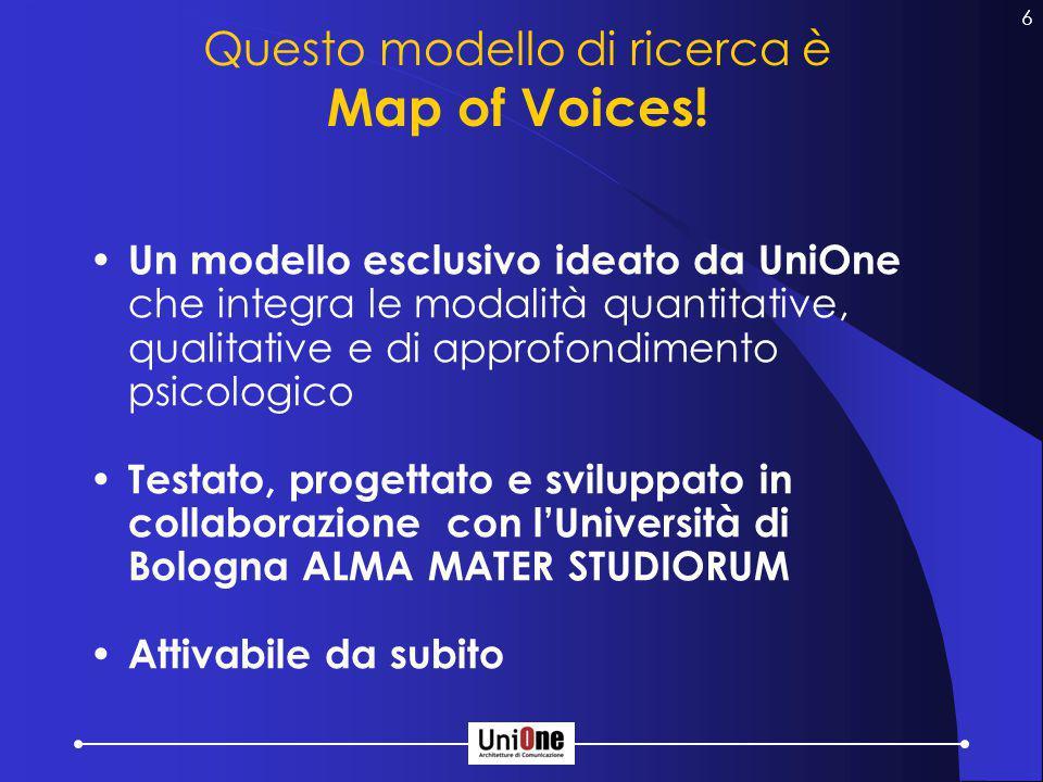 6 Questo modello di ricerca è Map of Voices.