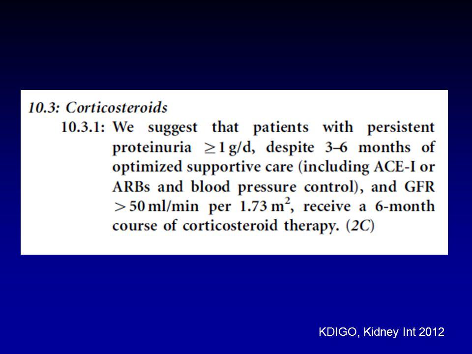 KDIGO, Kidney Int 2012