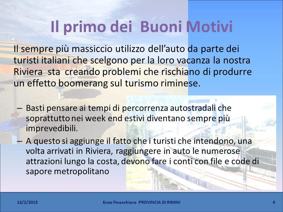 15 13/2/2015Enzo Finocchiaro PROVINCIA DI RIMINI Al Mare in Treno - Risultati 2014