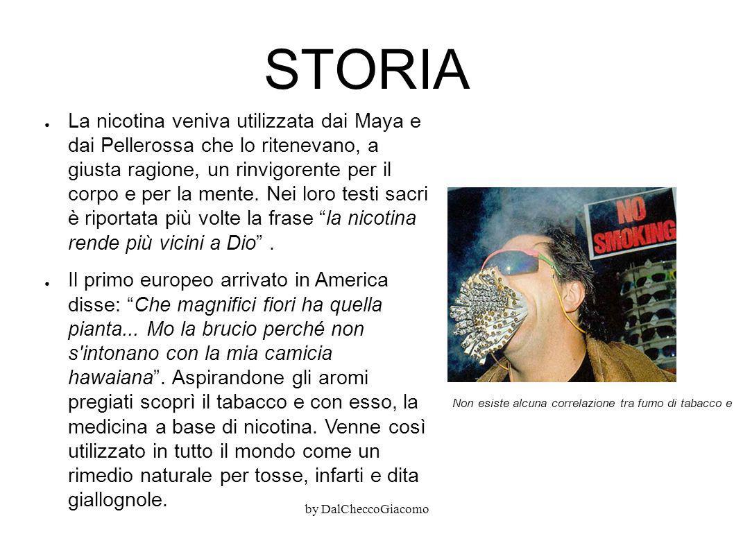STORIA ● La nicotina veniva utilizzata dai Maya e dai Pellerossa che lo ritenevano, a giusta ragione, un rinvigorente per il corpo e per la mente. Nei