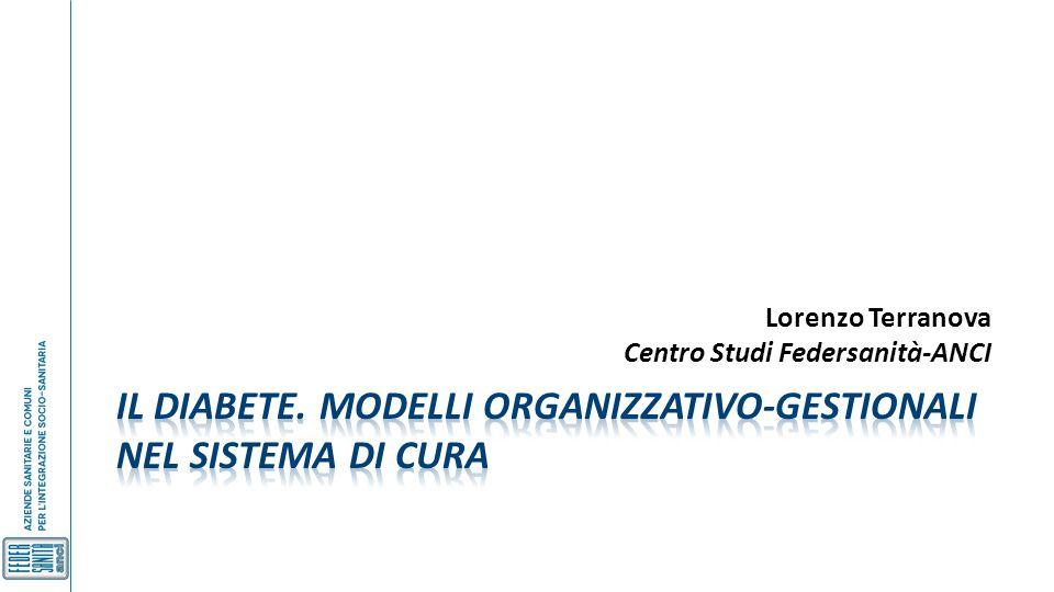 Lorenzo Terranova Centro Studi Federsanità-ANCI