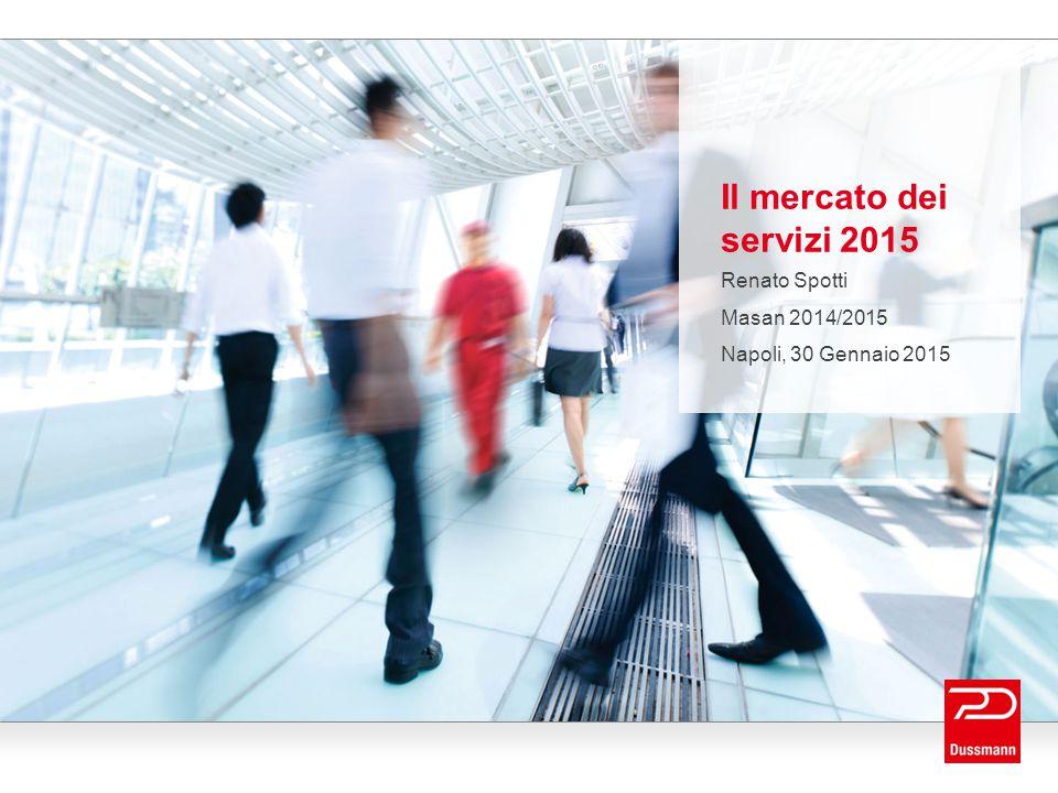Il mercato dei servizi 2015 Renato Spotti Masan 2014/2015 Napoli, 30 Gennaio 2015