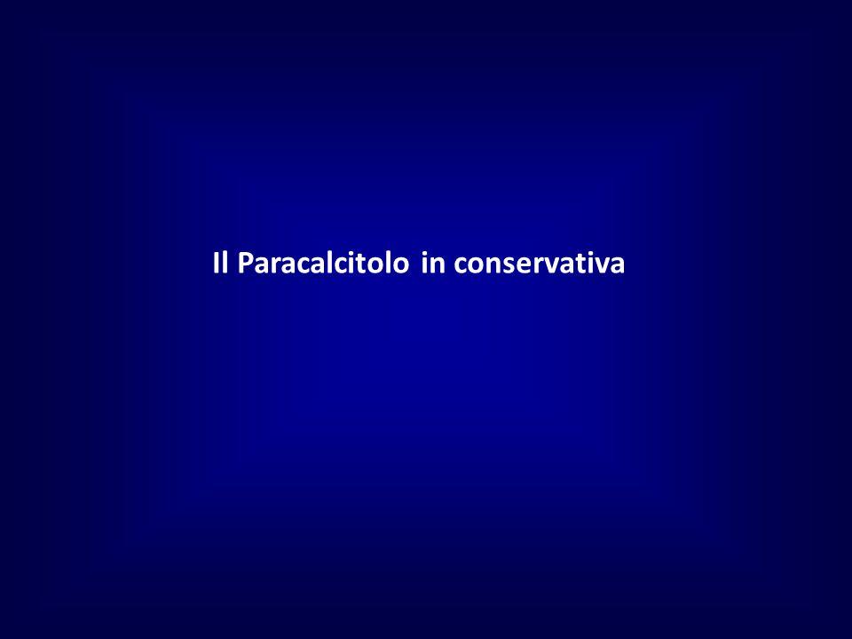 Il Paracalcitolo in conservativa
