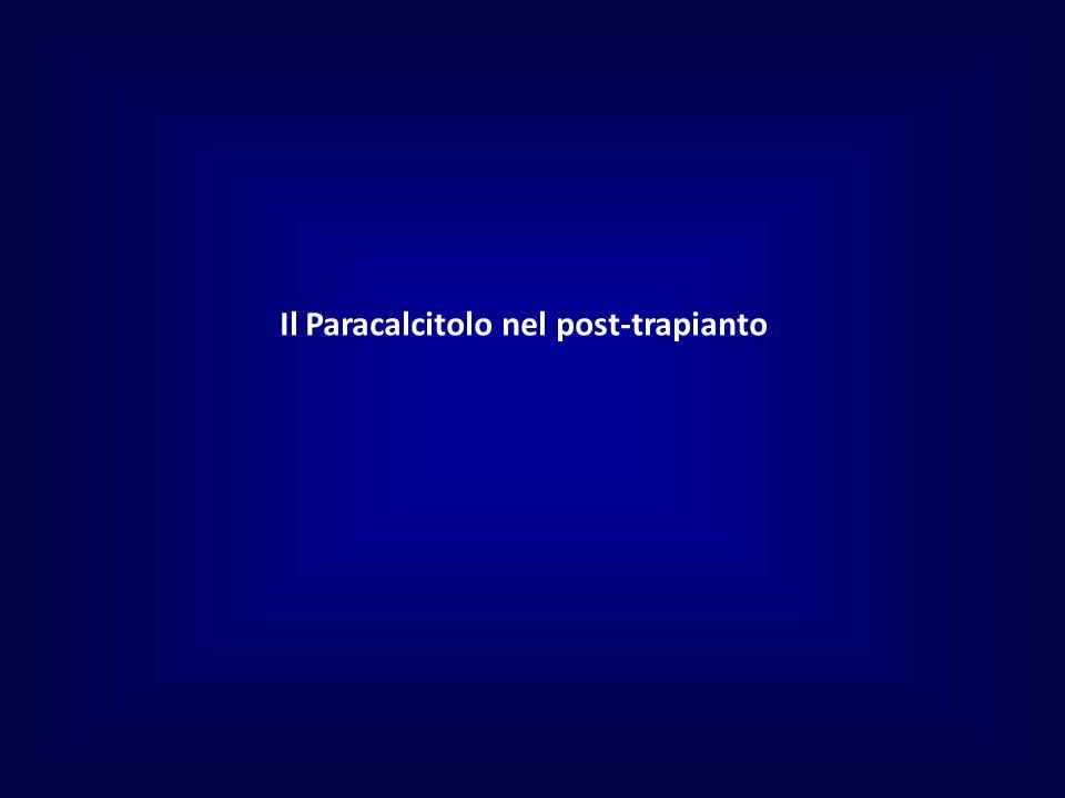 Il Paracalcitolo nel post-trapianto