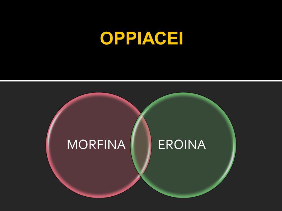 OPPIACEI MORFINAEROINA