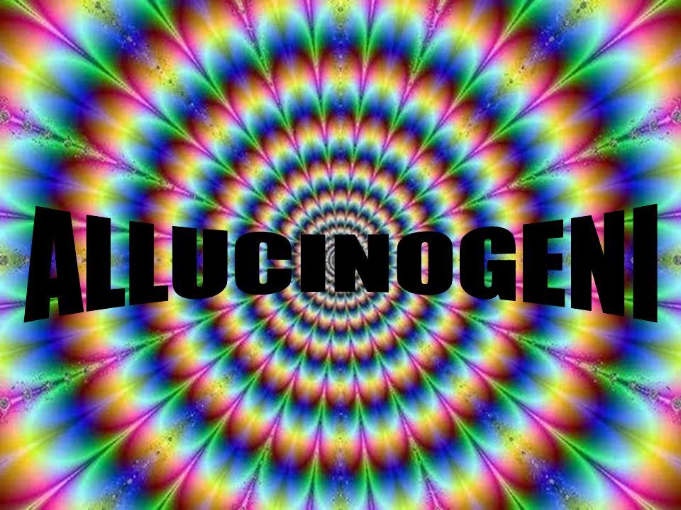 ALLUCINOGENI E' un gruppo eterogeneo di sostanze che non si limitano ad amplificare gli stati usuali della mente, quanto piuttosto ad indurre esperienze che sono qualitativamente diverse da quelle della coscienza ordinaria.