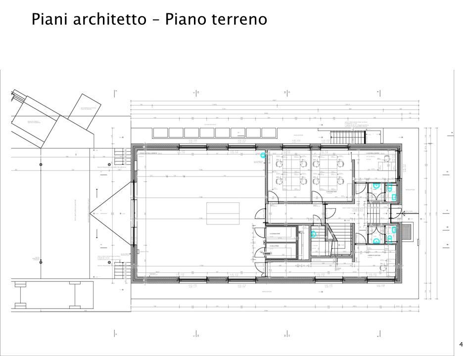 Piani architetto – Piano terreno 4