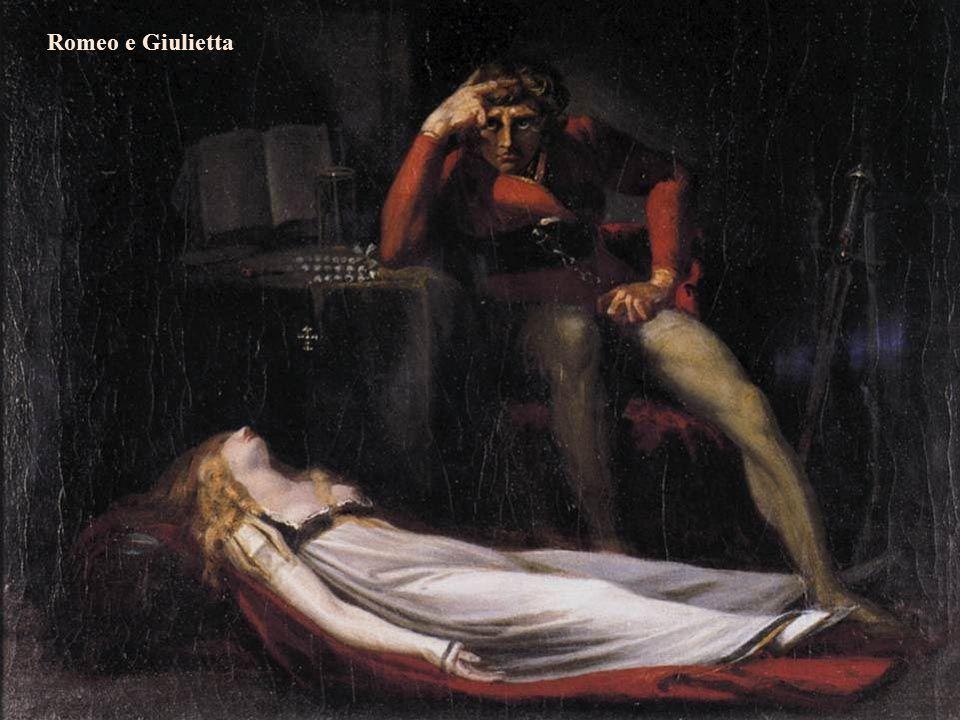 I pittori dell'immaginario Michela Zucca Servizi Culturali Satana chiana a sé Bekzebù dal mare di fuoco Fussli Romeo e Giulietta