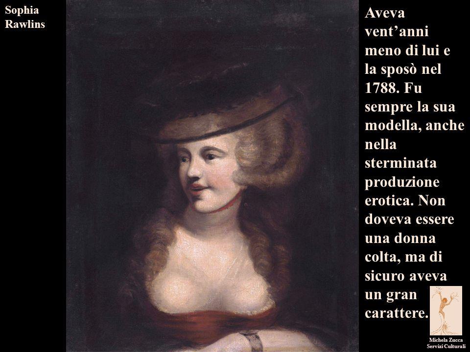 I pittori dell'immaginario Michela Zucca Servizi Culturali Aveva vent'anni meno di lui e la sposò nel 1788.