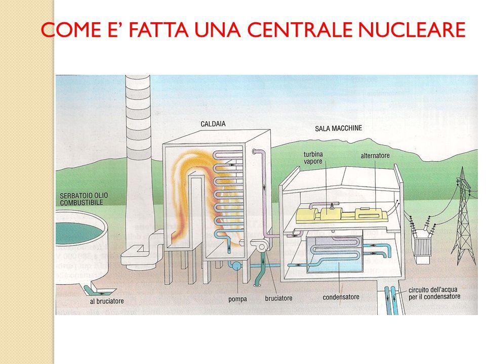 COME E' FATTA UNA CENTRALE NUCLEARE