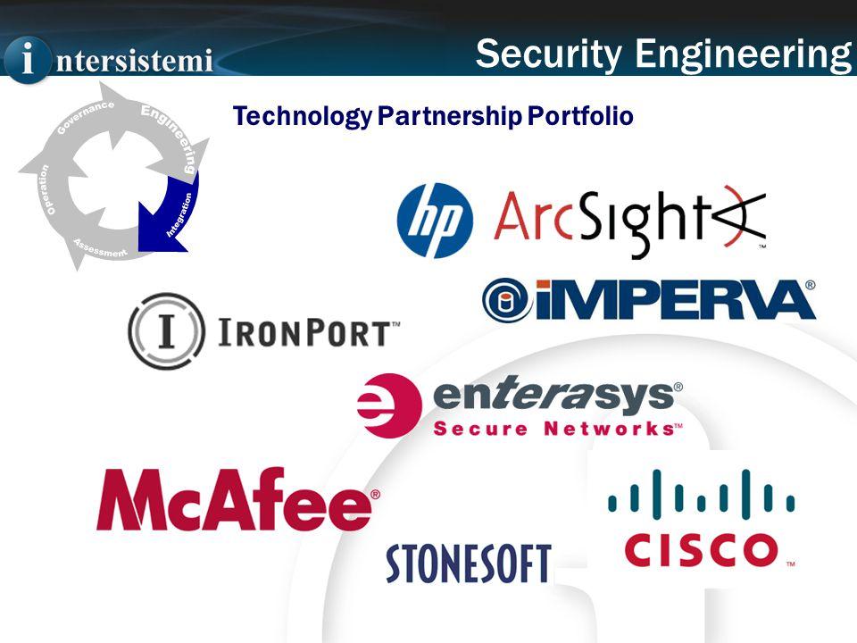 Security Engineering Technology Partnership Portfolio