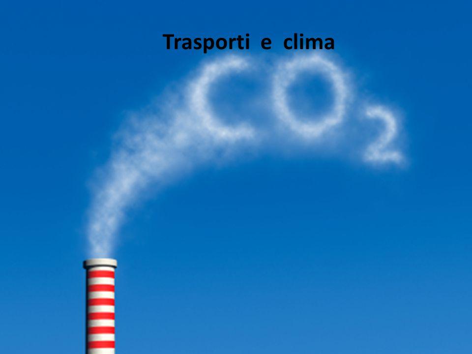 I trasporti influiscono molto sul cambiamento climatico; i mezzi usati funzionano quasi tutti con il petrolio e quindi emettono dei gas di scarico che vanno ad inquinare l'atmosfera e generano il fenomeno dell'effetto serra.