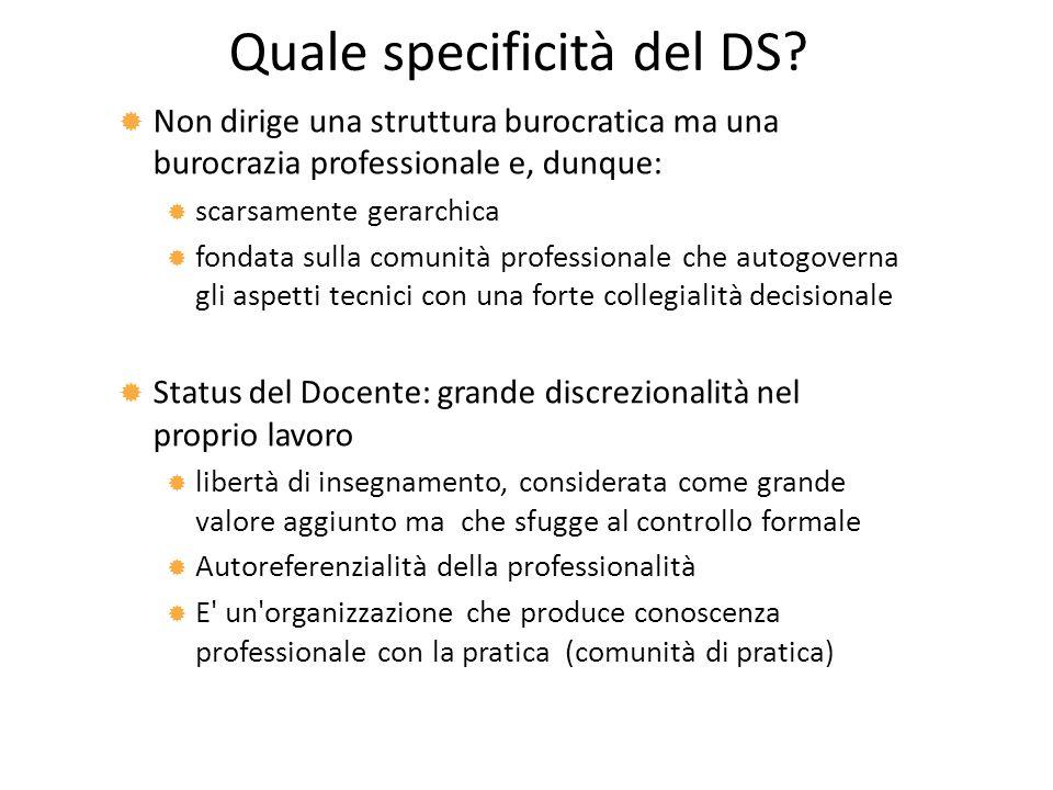 Quale specificità del DS.