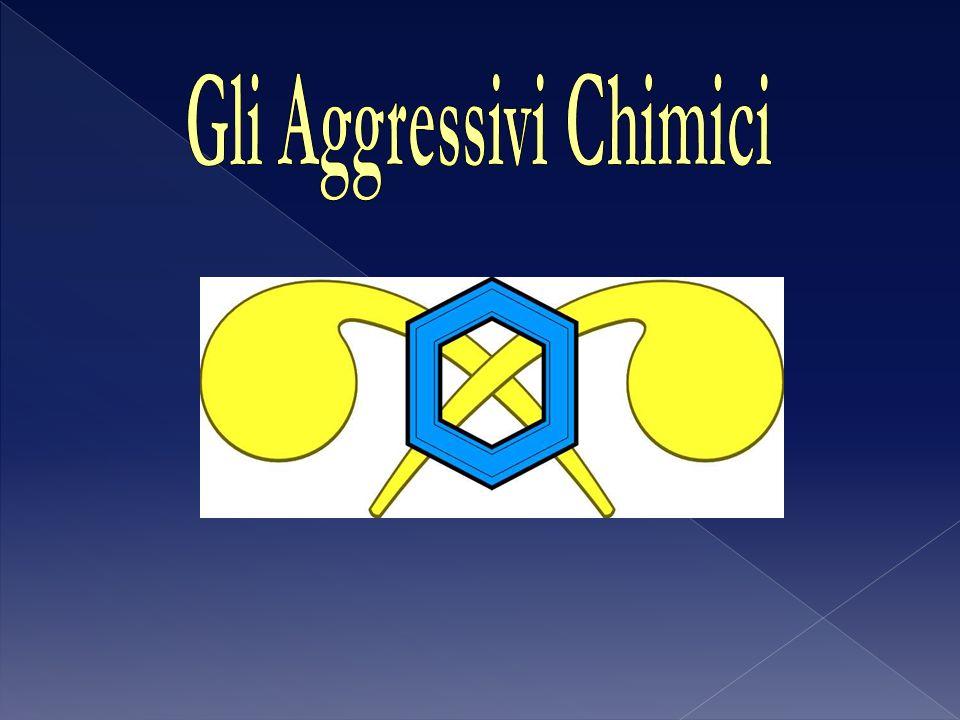 Chimicamente sono composti organici fosforati Vengono suddivisi in due gruppi: - G Gas;(Volatili e poco persistenti) - V Gas.