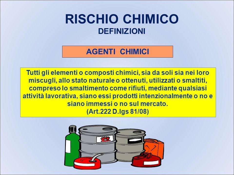 RISCHIO AGENTI CHIMICI E CANCEROGENI RISCHIO AGENTI CHIMICI E CANCEROGENI Il lavoro in edilizia comporta l'utilizzo di svariate sostanze chimiche.