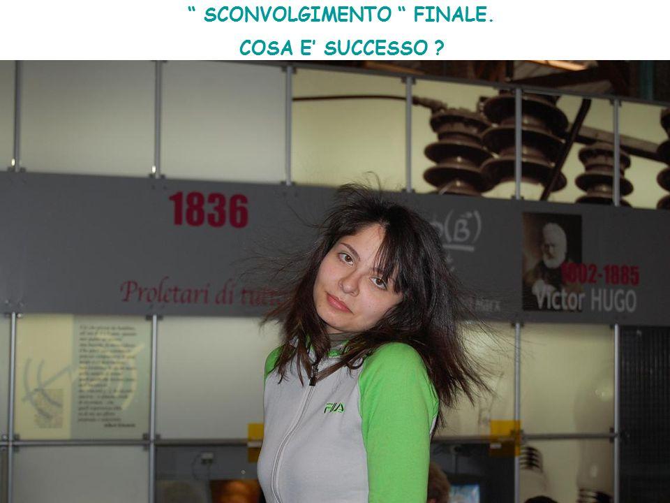 """"""" SCONVOLGIMENTO """" FINALE. COSA E' SUCCESSO ?"""