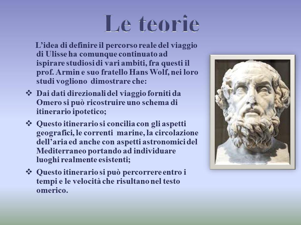 L'idea di definire il percorso reale del viaggio di Ulisse ha comunque continuato ad ispirare studiosi di vari ambiti, fra questi il prof. Armin e suo