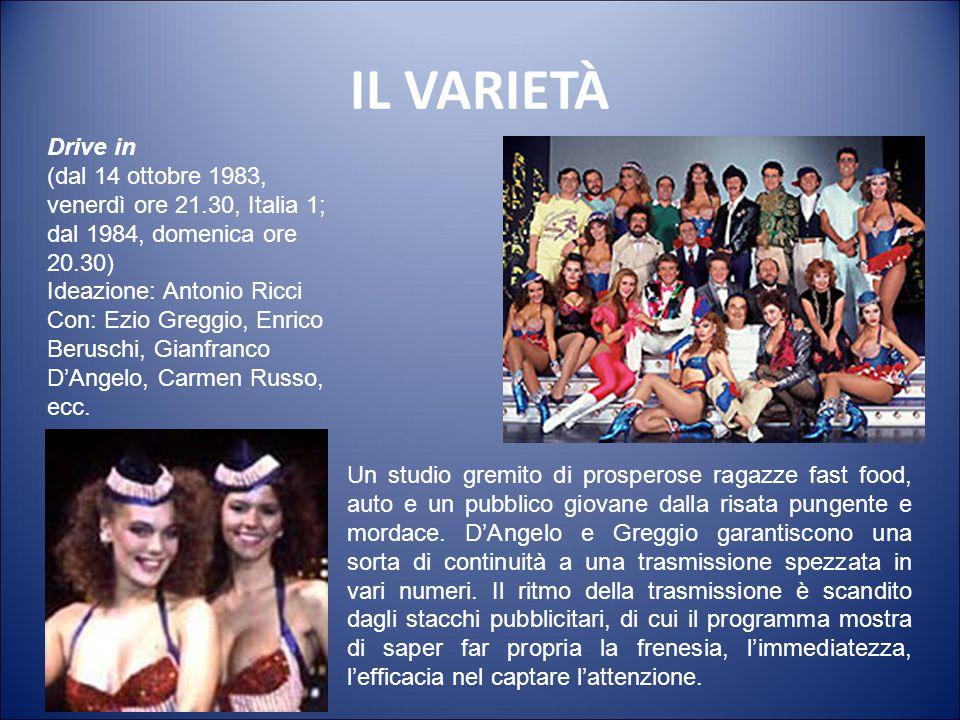 IL TELEQUIZ Il pranzo è servito (dal 13 settembre 1982, da lunedì a venerdì ore 12.40, Canale 5) Conduzione: Corrado Mantoni, Claudio Lippi (dal 1990)