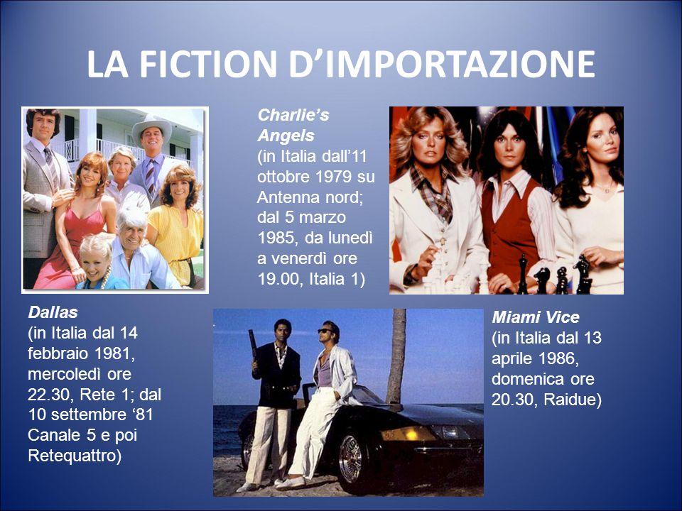 LA FICTION La piovra (1984) Regia: Damiano Damiani Interpreti principali: Michele Placido, Barbara De Rossi, Florinda Bolkan. 6 puntate dall'11 marzo