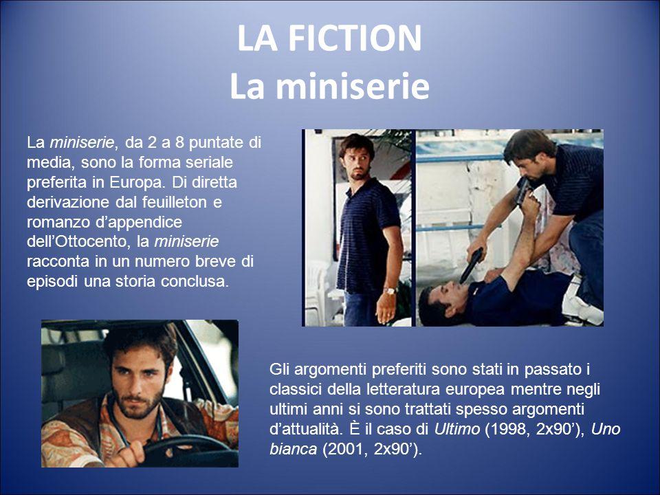 LA FICTION La soap all'italiana La produzione italiana di lunga serialità ha inizio nel 1997 con Un posto al sole. La soap all'italiana ha il merito d