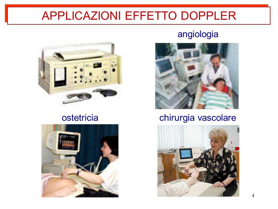 4 APPLICAZIONI EFFETTO DOPPLER ostetriciachirurgia vascolare angiologia