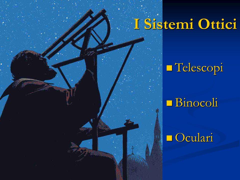 I Sistemi Ottici Telescopi Telescopi Binocoli Binocoli Oculari Oculari