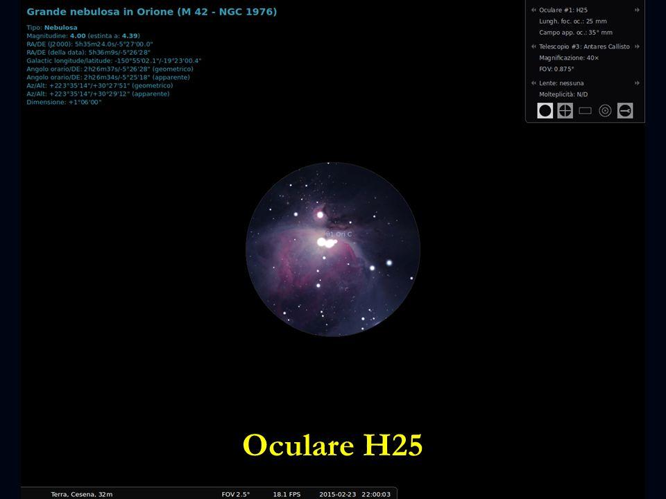 Oculare H25