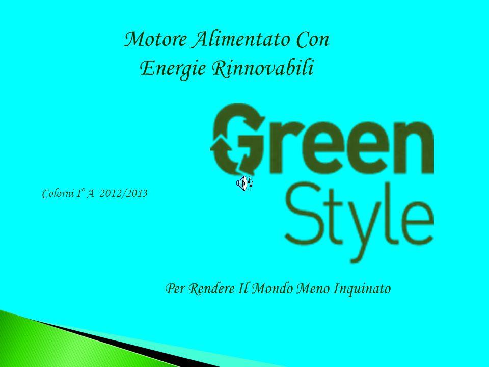 Motore Alimentato Con Energie Rinnovabili Per Rendere Il Mondo Meno Inquinato Colorni 1°A 2012/2013