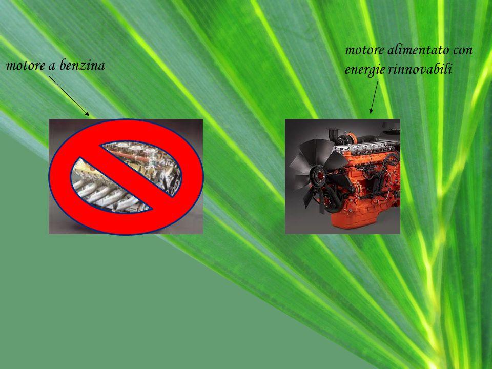 motore alimentato con energie rinnovabili motore a benzina