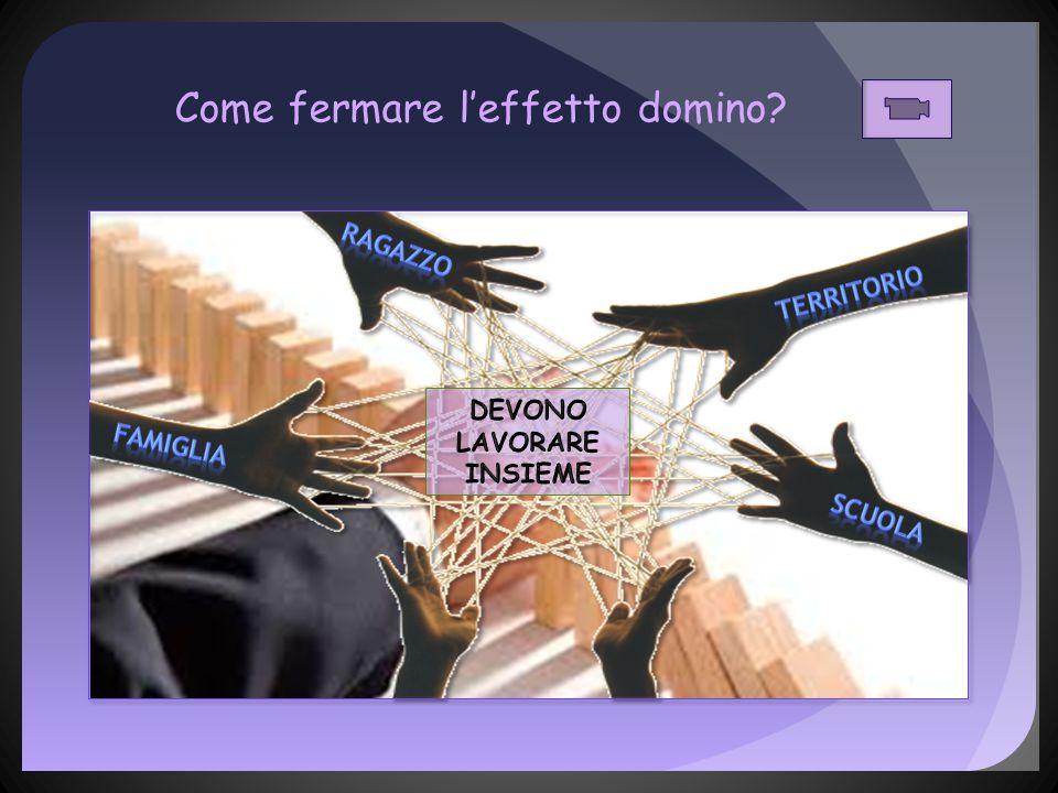 Come fermare l'effetto domino?